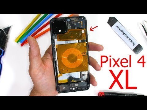 Pixel 4 XL Teardown! – Why does Google's Phone Snap?