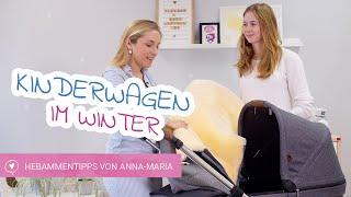 Mit Kinderwagen im Winter | Hebammentipps von Anna-Maria | babyartikel.de