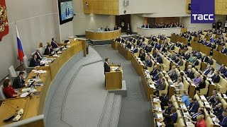 Доклад Дмитрия Медведева о работе правительства. Коротко по темам