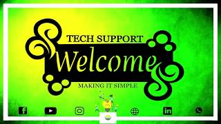 All about Tech Support check it out.