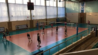 Волейбол. Девушки.  Тамбовская область - Белгородская область