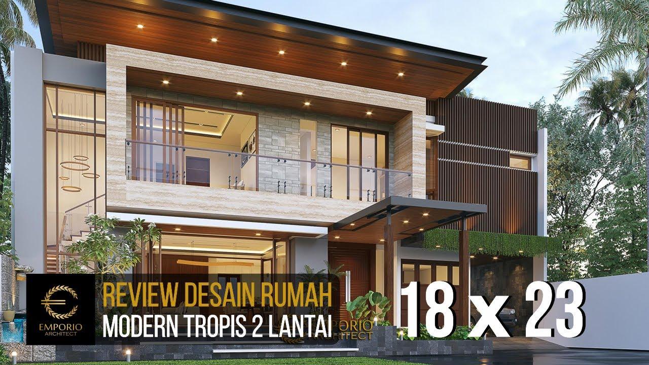Video 3D Desain Rumah Modern 2 Lantai Ibu Namira di Jakarta Timur