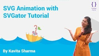 SVG Animation with SVGator Tutorial - HTML & CSS tutorial in Hindi