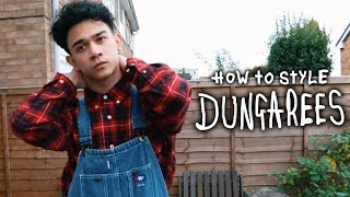 HOW I STYLE: DUNGAREES/OVERALLS