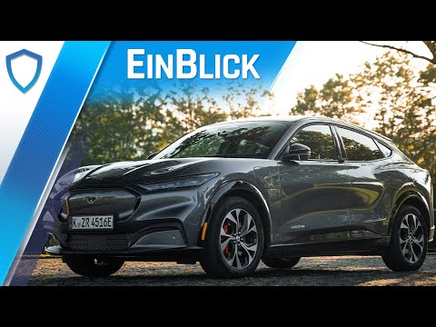 Ford Mustang Mach-E AWD (2021) - Wilder Hengst oder zahmes Pony? Test & Review