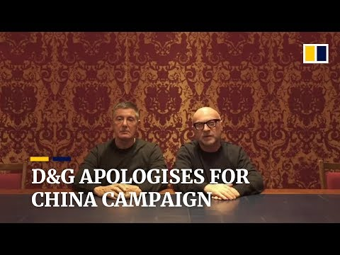 Dolce   Gabbana founders apologise for controversial China campaign b8284913005