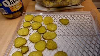 Dehydrated Pickles...AKA Pickle Candy
