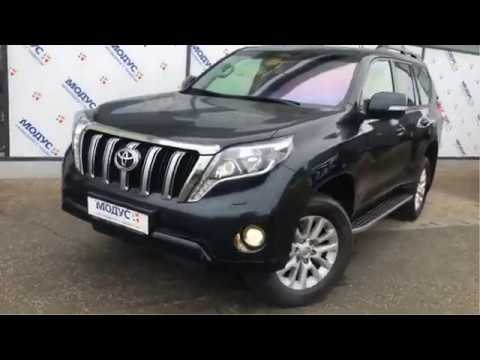 Toyota Land Cruiser Prado, 150 Series Рестайлинг 1 2016г.