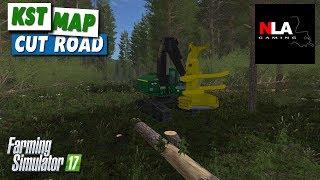 Farming Simulator 17 - KST Map - Cut Road