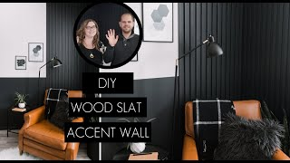 How To Make A Wood Slat Accent Wall