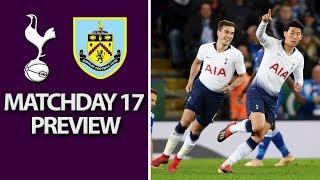 Tottenham v. Burnley | PREMIER LEAGUE MATCH PREVIEW | 12/15/18 | NBC Sports | Kholo.pk