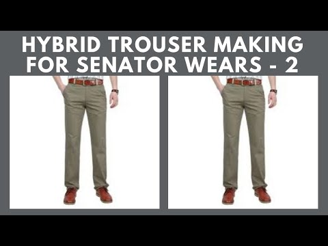 Download Hybrid Native Trouser With Slant Pocket, Front Band & Elastic Rubber Band Part 2 HD Mp4 3GP Video and MP3