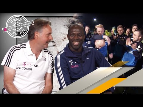 Hans Sarpei beim SV Buchholz 05 - Das T steht für Coach | SPORT1