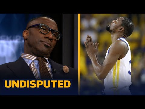 5993fe8c5887 Can Kevin Durant pass LeBron on the all-time great list  Skip and Shannon  discuss