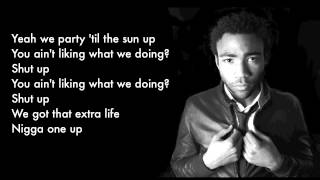 Childish Gambino - 'One Up (feat. Steve G. Lover)' (with Lyrics) High Quality Mp3