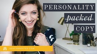 Easy Ways to Find Your Brand Voice :: How to Add Personality to Your Copywriting