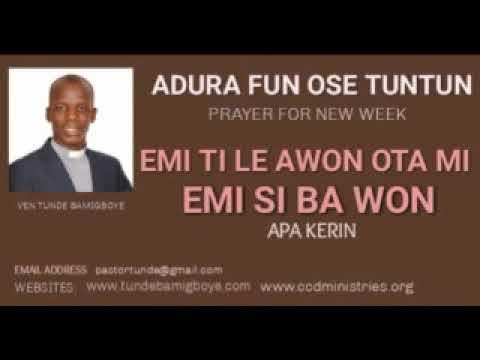 Download Adura Fun Ose Tuntun- EMI TI LE AWON OTA MI PART 4 HD Mp4 3GP Video and MP3
