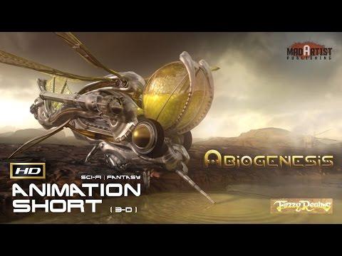 "CGI 3D Animated Short Film ""ABIOGENESIS"" AWARD WINNING Masterpiece Sci-Fi Animation by Richard Mans"
