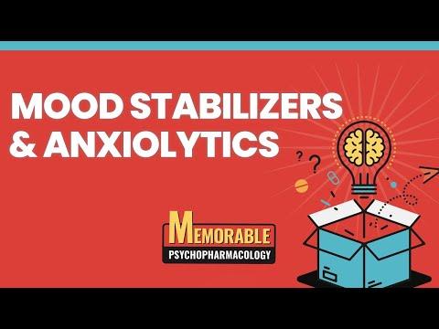 Psychofarmakologia 5 i 6: stabilizatory nastroju i leki uspokajające