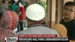 Kota Yogyakarta Diguncang Gempa 53 SR Dengan Durasi Sekitar 20 Detik  INews Siang 18/11