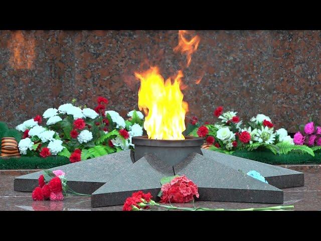 В Иркутске прошла акция «Огненные картины войны»