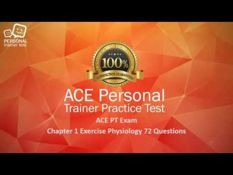 ACE personal trainer exam. Chapter 1 exercise physiology flash ...