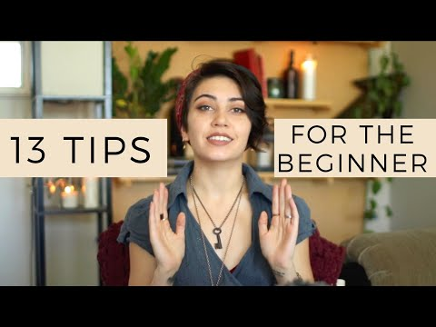13 Tips for Beginner Witches || Witchcraft 101