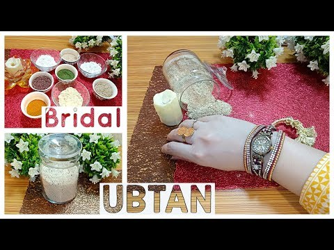 DIY Bridal Ubtan for Fairness and Glowing Skin - Health And Beauty With Sara