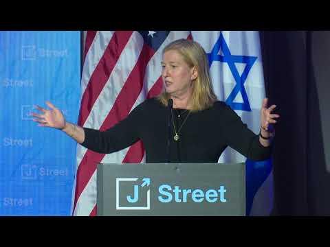 MK Tzipi Livni at J Street's 2018 National Conference