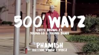 500 Wayz by Chris Brown by Young Lo  & Young Blacc | a @s0phamish Freestyle | RKz / Vibez