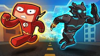 FLASH vs SAVITAR - Superhero vs Villain! (Scramble Craft)