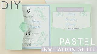 Pastel Invitation Suite | DIY