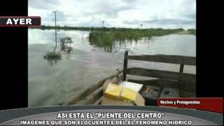 preview picture of video 'ASI ESTA EL PUENTE DE SAN CARLOS CENTRO'
