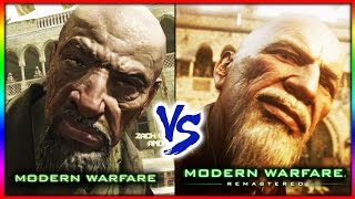 MODERN WARFARE REMASTERED  VS ORIGINAL MODERN WARFARE (PC)