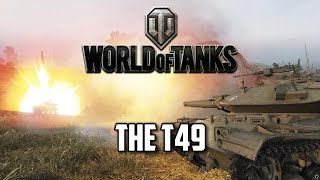 World of Tanks - Patch 9.3 Preview - The T49