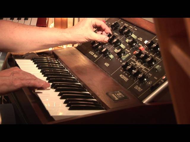 Minimoog-Session - now in HD