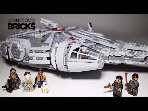 Vidéo LEGO Star Wars 75105 : Le Faucon Millenium