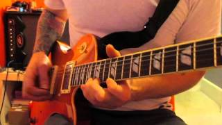 The Darkness Last of Our Kind guitar solo cover