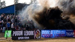 preview picture of video 'Kibice Pogoni Lębork podczas meczu z Kaszubią Kościerzyna'