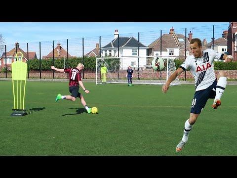 HARRY KANE FOOTBALL CHALLENGE!