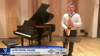 Kacper PUCZKO plays Improvisation et caprice by E. Bozza #adolphesax