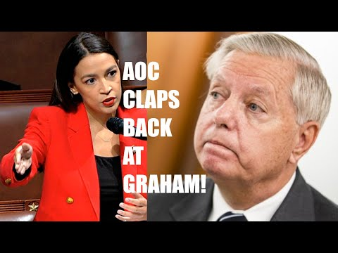 "AOC DEMOLISHES Lindsey Graham For Being ""Spineless"" After Graham Attacks Her!"