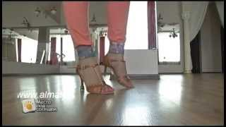 Смотреть онлайн Базовый урок про шаги в танце Ча-Ча-Ча