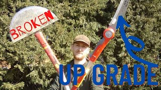 Wolf Garten Multi- Change - Pro 370 Saw & Telescopic Handle #wolfgarten #worldofwolf #toolreview