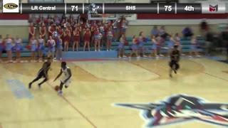 Boys Basketball: Southside vs LR Catholic - 2/20/18