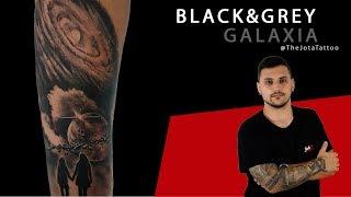 MasterClass Community |Tattoo  Galaxia Black & Grey ( By: TheJotaTattoo )