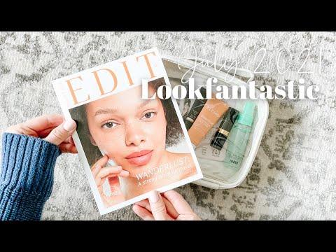 Lookfantastic Beauty Box Unboxing July 2021