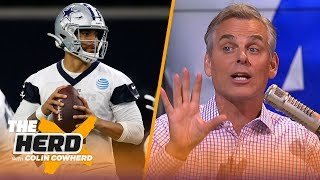 Colin lists his Top 5 NFL teams of all time, says the Cowboys 'owe' Dak a contract   NFL   THE HERD