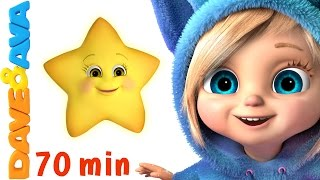 🌟 Twinkle Twinkle Little Star Song + More Baby Songs and Nursery Rhymes by Dave and Ava 🌟