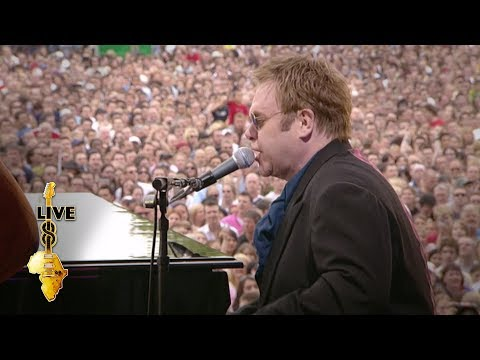Elton John - Saturday Night's Alright For Fighting (Live 8 2005)